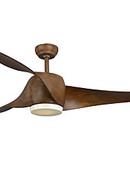 Ventilateur de plafond ,  Rustique Peintures Fonctionnalité for LED Designers MétalSalle de séjour Chambre à coucher Bureau/Bureau de