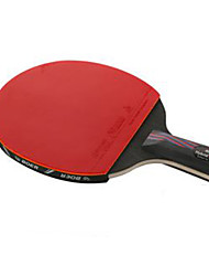 Table Tennis Rackets Ping Pang Carbon Fiber Long Handle Others 1 Racket 3 Table Tennis Balls 1 Table Tennis BagOutdoor Performance