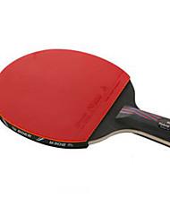 Ping Pang/Tabela raquetes de tênis Ping Pang Fibra de Carbono Cabo Comprido Outros1 Raquete 3 Bolas para Tênis de Mesa 1 Bolsa para Tênis