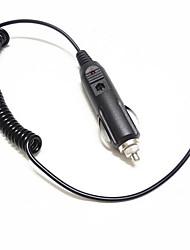 Домофон аккумуляторная линия зарядки аксессуары автомобильное зарядное устройство baofeng bf-uv-5r 12v
