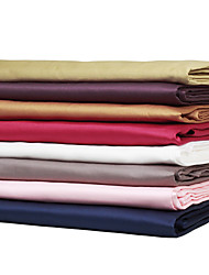 Turqua High Thread Count 100% Egyptian Cotton Solid Style Bedding Sheet Environmental Friendly Flat Sheet for Bedroom/Hotel