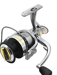 Fishing Reel Spinning Reels 5.2:1 6 Ball Bearings Right-handed General Fishing-GA5000