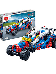 Children 's Puzzle Assembled Building Blocks Toys Hi - Tech Pull Back Car Racing Model 6968