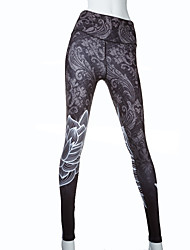 Digital Print Pants Breathable Yoga Leggings