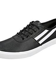 Men's Sneakers Spring Summer Fall Winter Comfort PU Casual Flat Heel Lace-up Walking