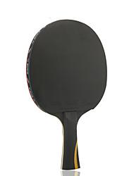 Ping Pang/Настольный теннис Ракетки Ping Pang/Настольный теннис Бал Ping Pang Резина Длинная рукоятка Прыщи 1 Ракетка 3 Мячи для