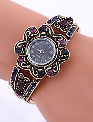 Модные часы Часы-браслет Кварцевый сплав Группа Винтаж С подвесками Cool Повседневная Креатив Черный