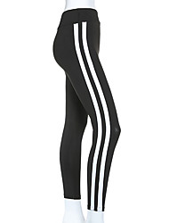Yoga Pants Tights Breathable Stretch Soft Comfortable High Stretchy Sports Wear Black Women's Yoga