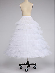 Slips Ball Gown Slip Floor-length 7 Taffeta Tulle White Black Red