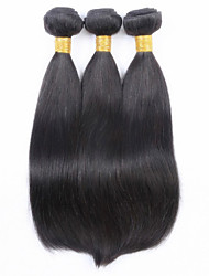 """3PCS/lot STOCK 100g 8""""-32"""" Brazilian Remy 100% Human Hair Weaves Weft Extension straight Hair Weave"""
