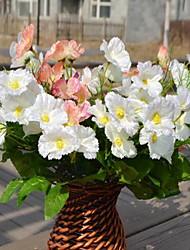 1 Une succursale Fibre Chrysanthème Fleur de Table Fleurs artificielles 20*20*30