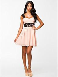 Aliexpress / ebay vestido de encaje venta halter atractivo del vestido / clubwear
