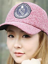 Fashion Round Logo Eagle Pattern Cotton Dome Baseball Couple Hat