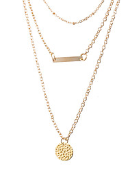 Xu Women's Alloy Necklace Fashion in Europe And The Wind