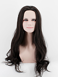 Japan and South Korea fashion life black natural straight hair natural song high temperature wire wig