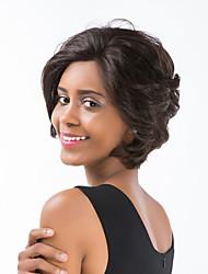 Модный естественный короткий волос курчавых волос человеческих волос передний передний парик