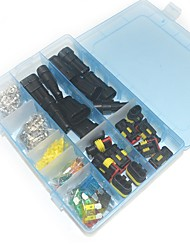 Waterproof Electrical Connector Box Set - 2to 3 Way and Blade Fuse