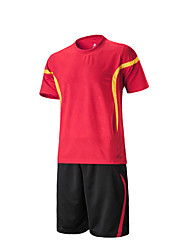 Women's Men's Soccer Sweat-wicking Spring Summer Winter Fall/Autumn Stripe Polyester Racing Leisure Sports Running