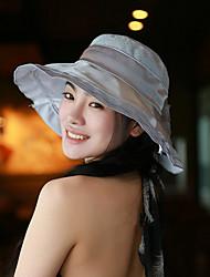 Ms han edition new fashion summer flowers bilateral big hat ribbon flower