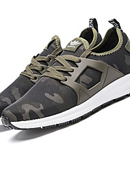 Men's Athletic Shoes Spring Summer Fall Comfort Light Soles Tulle Outdoor Athletic Casual Low Heel Lace-up Fitness & Cross Training