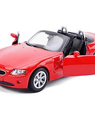 Bauernhoffahrzeuge Aufziehbare Fahrzeuge Auto Spielzeug 1:25 Metall Rot Schwarz Weiß Model & Building Toy