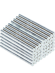 DIY 2.3*3mm Cylindrical Neodymium NdFeB Magnet(1000PCS) Silver