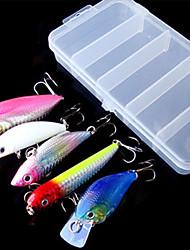2 pcs leurres de pêche Manivelle Couleurs Aléatoires g/Once mm pouce Pêche générale