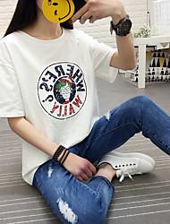 Signe 2017 coton en bambou coton à manches courtes en t-shirt en t-shirt en vrac