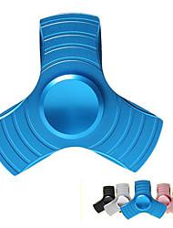 Triple aluminium fidget main spinner réducteur de stress jouet pour adhd soulager stress anxiété meilleur cadeau pour enfants et adultes