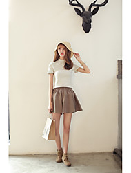 nett été short culottes femmes jupes jupe de style Harajuku jupe mince coréenne lâche était mince femelle Culottes