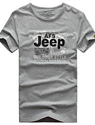 Homme Tee-shirt Respirable Séchage rapide Eté Blanc Gris Noir