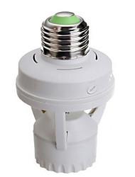 Infrared Body Sensor Lamp Cap E27
