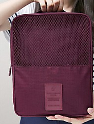 Luggage Organizer / Packing Organizer Portable for Travel StorageOrange Blue Blushing Pink Dark Red