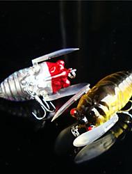 5 pçs Vairão Cores Aleatórias g/Onça mm polegada,Plástico Pesca Geral