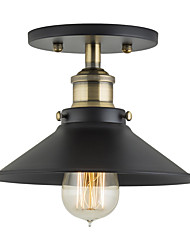 Modern Industrial Mini Edison Ceiling Light 1-Light Vintage style Flush Mount Light