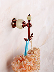 Crochets pour Rideaux de Douche Moderne Laiton