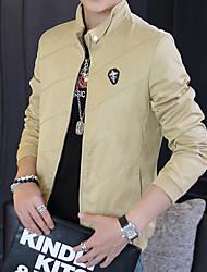 2016 nueva chaqueta otoño masculino delgado corto resorte y otoño masculino delgado hombres ocasionales&# 39; s chaqueta jóvenes marea