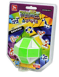 Rubik's Cube Cubo Macio de Velocidade Kit Faça Você Mesmo Cubos Mágicos Etiqueta lisa