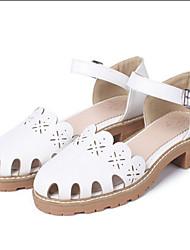 Women's Sandals Spring Summer Gladiator Comfort Light Soles Leather Outdoor Casual Flat Heel Buckle Walking Shoes
