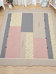 Casual Cotton Area Rugs(Random Color)(160*210cm)