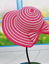 Bowler Lady Dome Cloth Cap Sun Hat Big Beach Tourism Uv Wide Large Brim Floppy Summer Straw Hat Cap