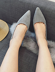Women's Heels Comfort PU Casual Low Heel