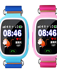 Kids' GPS Q90 Touch Screen WIFI Positioning Smart Watch Children SOS Call Location Finder Device Tracker Kid Safe Anti Lost Monitor