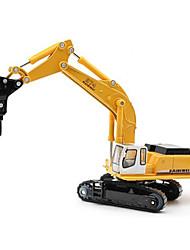 Brinquedos Modelo e Blocos de Construção Maquina de Escavar Metal Plástico