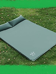 Moistureproof/Moisture Permeability Inflated Mat Camping Pad Sleeping Pad Green Blue Hiking Camping Traveling