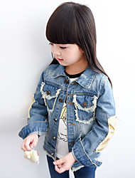 Children's Casual/Daily Sports Patchwork Suit & Blazer,Linen Summer Spring Long Sleeve
