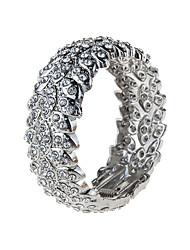 Femme Bracelets Rigides Bijoux Mode Vintage Gemme Alliage Forme Géométrique Or Argent Bijoux Pour Occasion spéciale 1pc