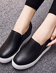 Women's Flats Spring Comfort Cowhide Casual Flat Heel Gore