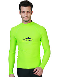 Men's Wetsuit Top Quick Dry Anatomic Design Breathable Sunscreen Neoprene Diving Suit Long Sleeves Tops-Diving Spring Summer Classic