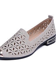 Women's Flats Spring Summer Fall Comfort PU Casual Low Heel